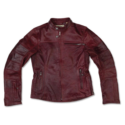 Roland Sands Design Maven Women's Oxblood Leather Jacket