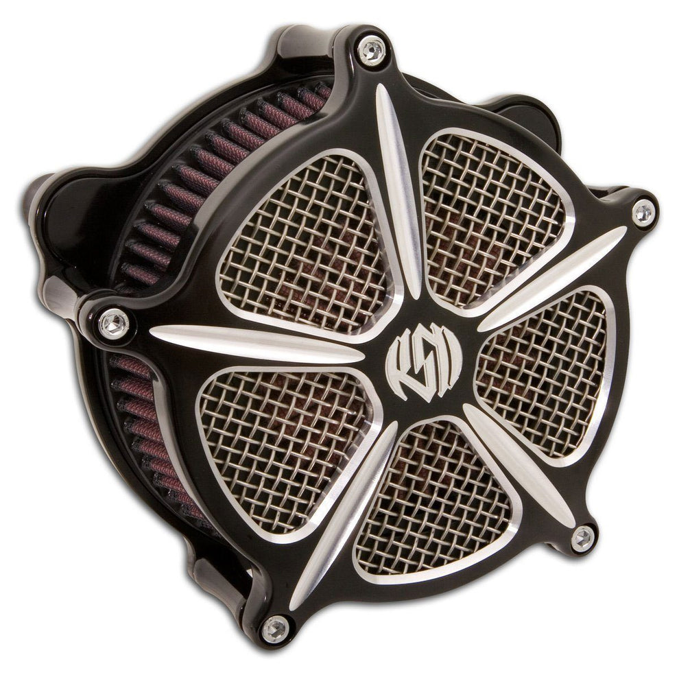 Roland Sands Design Venturi Speed 5 Contrast Cut Air Cleaner for Harley Davidson 1991-2015 Sportster models