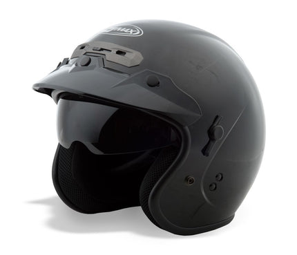 GMax GM32 Black Open Face Helmet