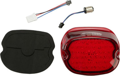 HardDrive Low Profile LED Taillights Clear Lens for HD 1940-1954 Big Twin and S