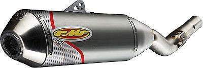 FMF Racing Q4 Aluminum/Steel Spark Arrestor Slip-On System for 2003-2010 Honda CRF150F/CRF230F