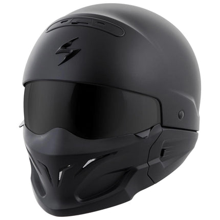 Scorpion Covert Matte Black 3-in-1 Helmet
