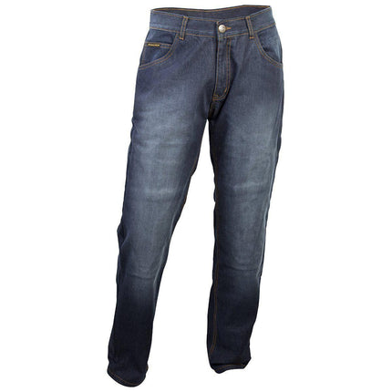 Scorpion Covert Pro Men's Stonewashed Blue Denim Riding Jeans