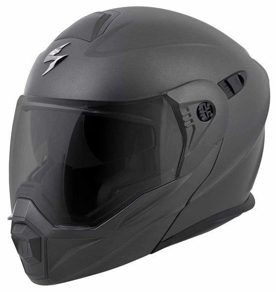 Scorpion EXO-AT950 Matte Black Dual Sport Helmet - N/A
