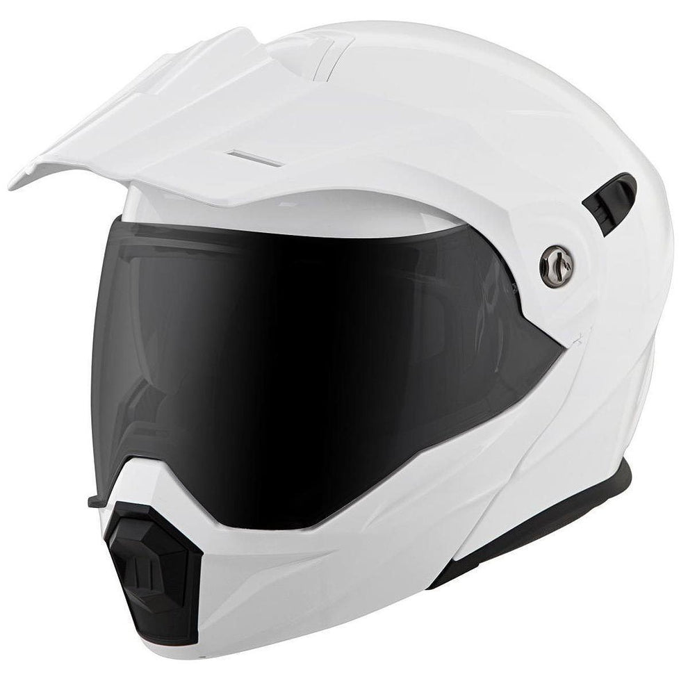 Scorpion EXO-AT950 White Dual Sport Helmet