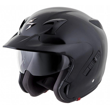 Scorpion EXO-CT220 Black Open Face Helmet