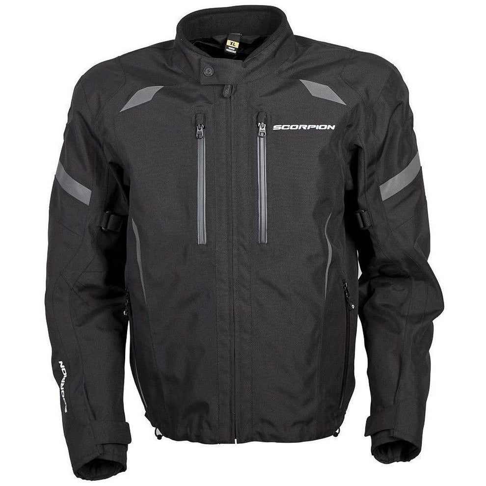 Scorpion Optima Men's Black Textile Jacket