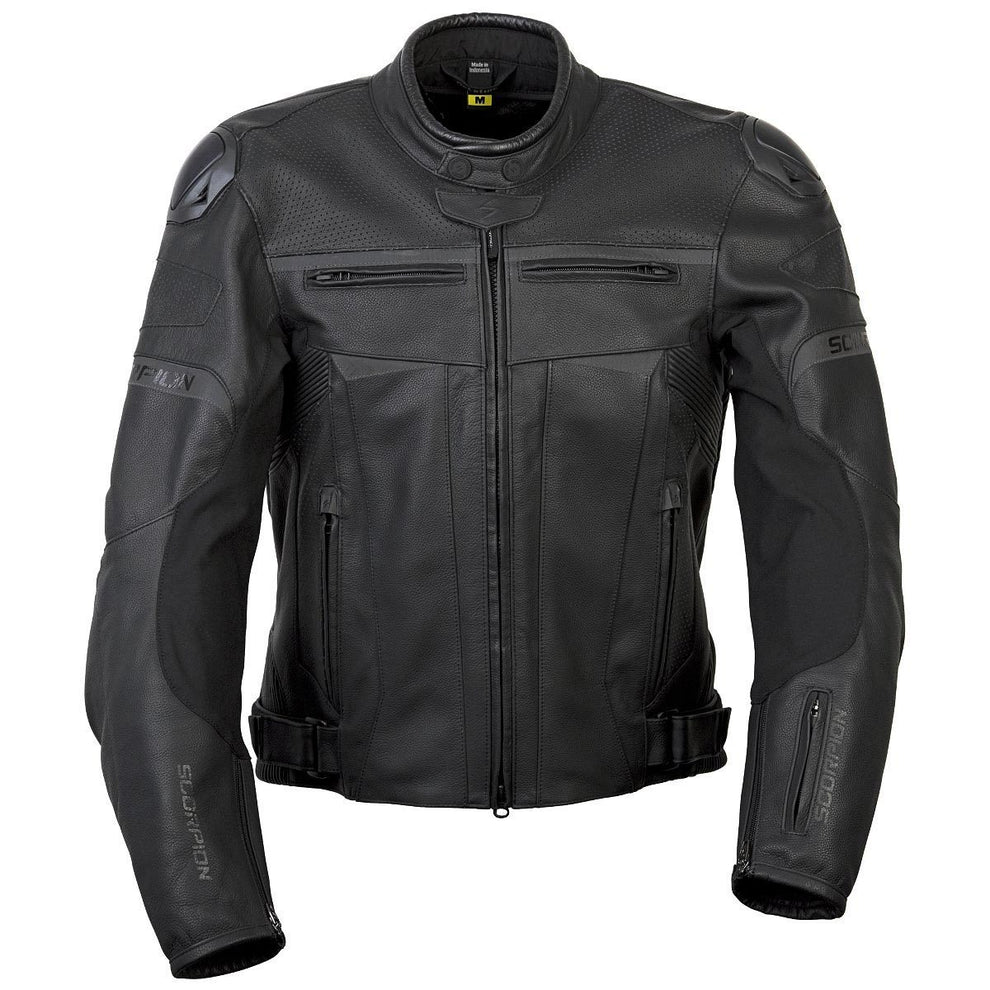 Scorpion Ravin Men's Black Leather Jacket