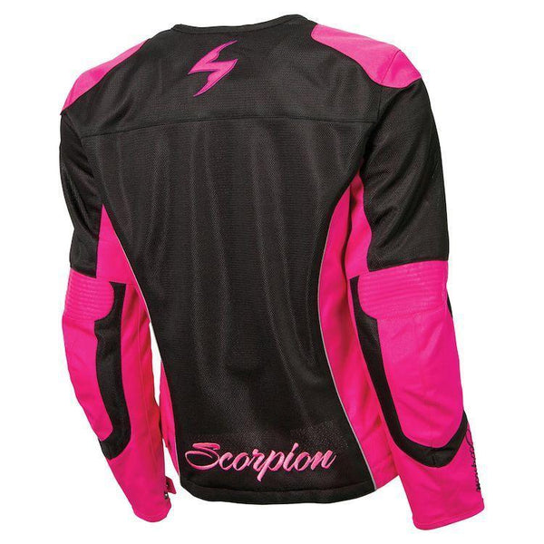 Scorpion Verano Women's Pink Mesh Jacket with Armor - N/A