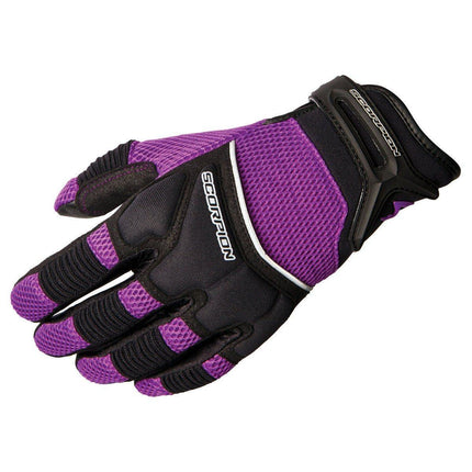 Scorpion Cool Hand II Women's Purple Leather Gloves