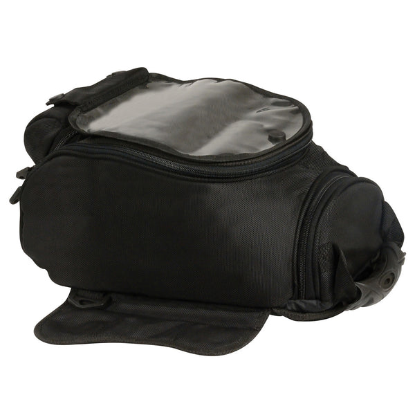 Milwaukee Performance SH679 Black Large 1200D Textile Magnetic Tank Bag with Double Zippers - Milwaukee Performance Tank Bags