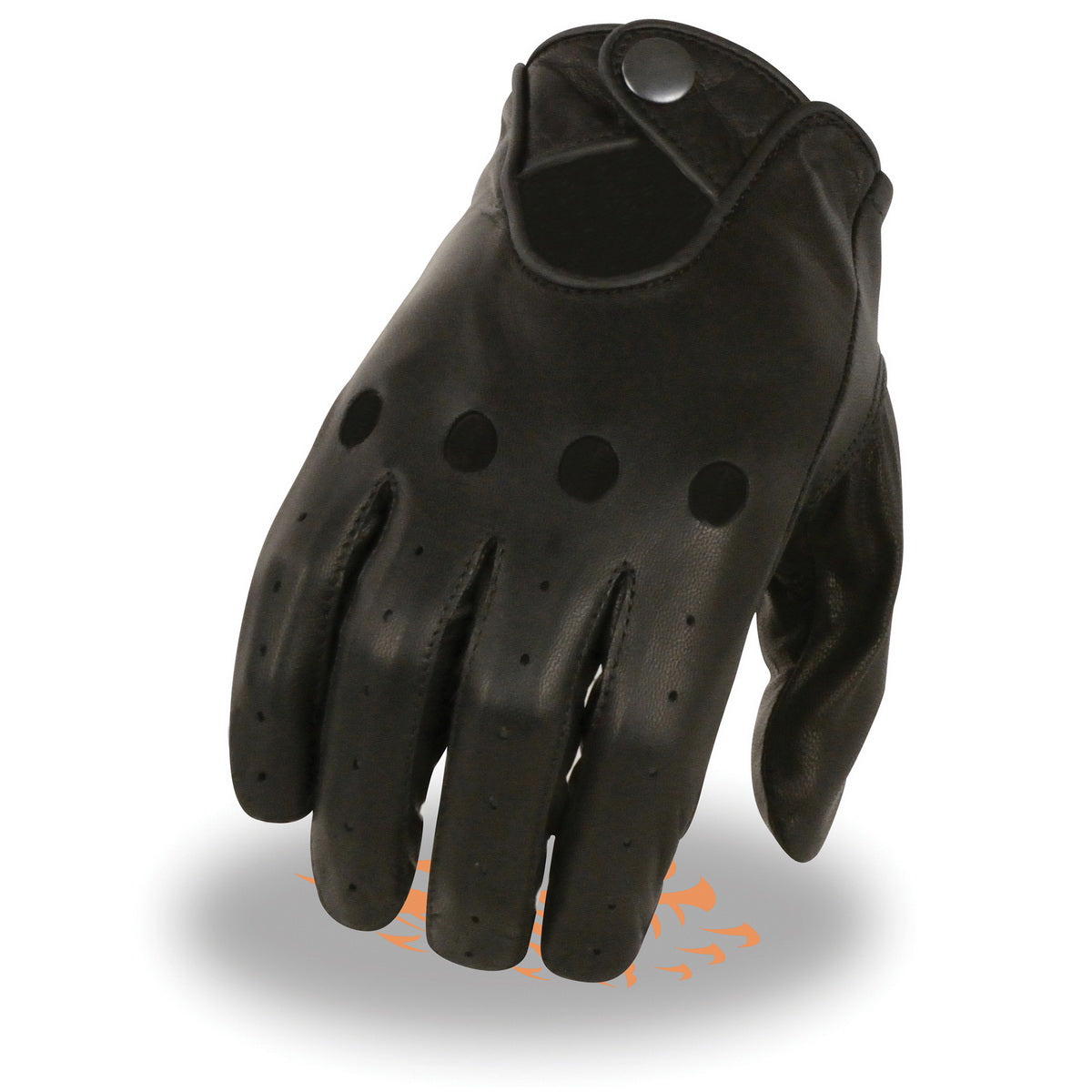 Milwaukee Leather SH729 Mens Unlined Leather Proffesional Driving Gloves Medium