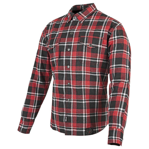 Speed and Strength Men's Black Nine Red/Black Moto Shirt