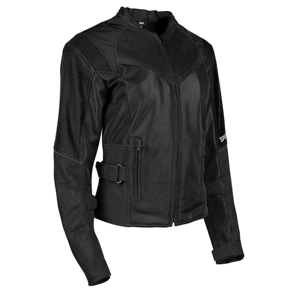 Speed and Strength 'Sinfully Sweet' Women's Black Mesh Jacket
