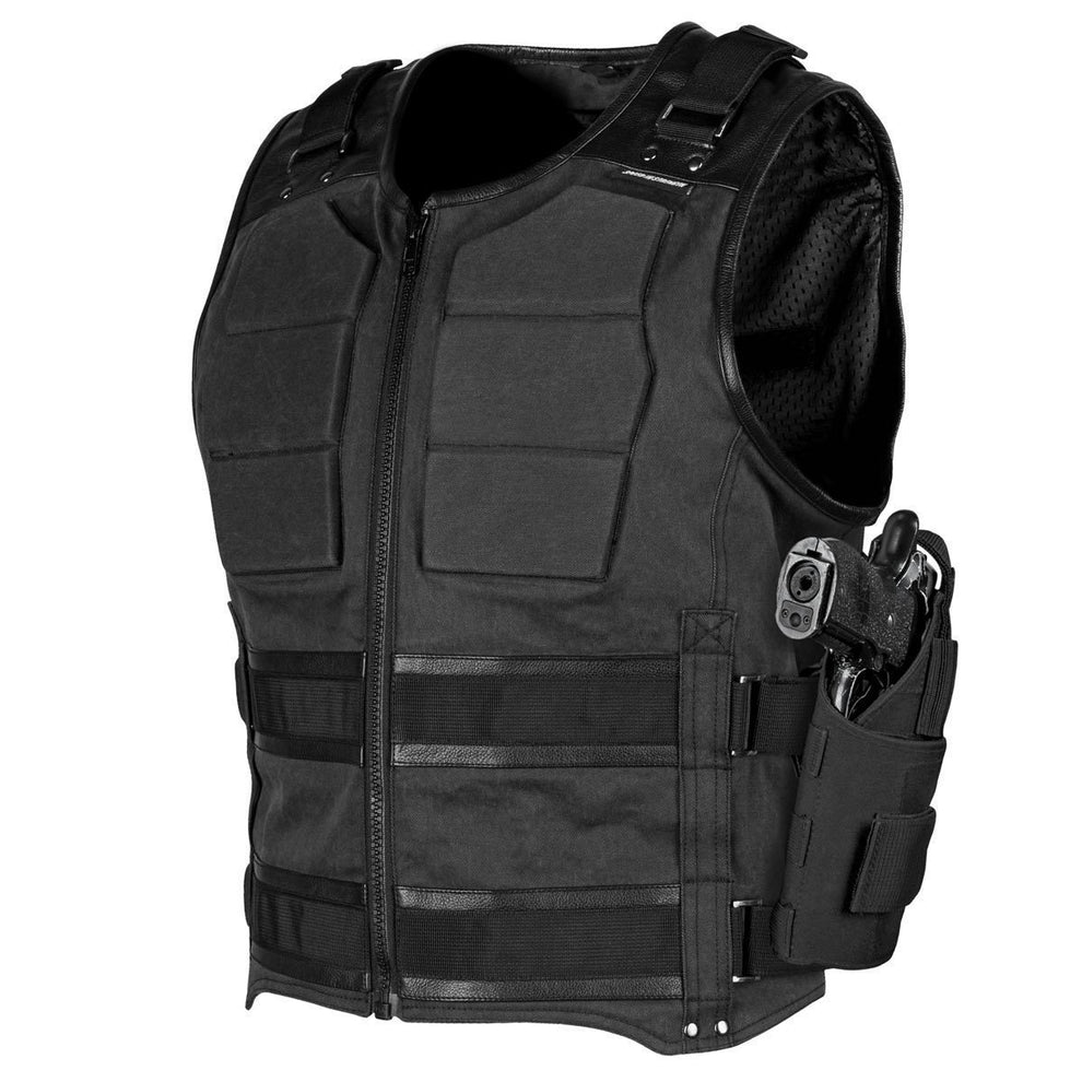 Speed and Strength 'True Grit' Men's Black Armored Vest