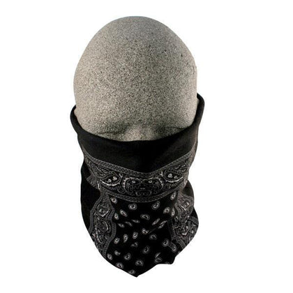 Zan Headgear T101 Black Paisley Motley Tube - Zan Headgear