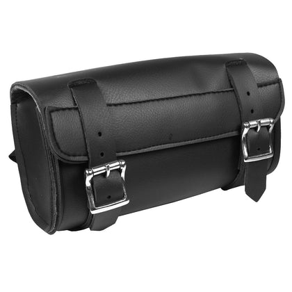 Hot Leathers TBC1004 Medium PVC Motorcycle Tool Bag 10X5X3 - Hot Leathers Bags and Luggage