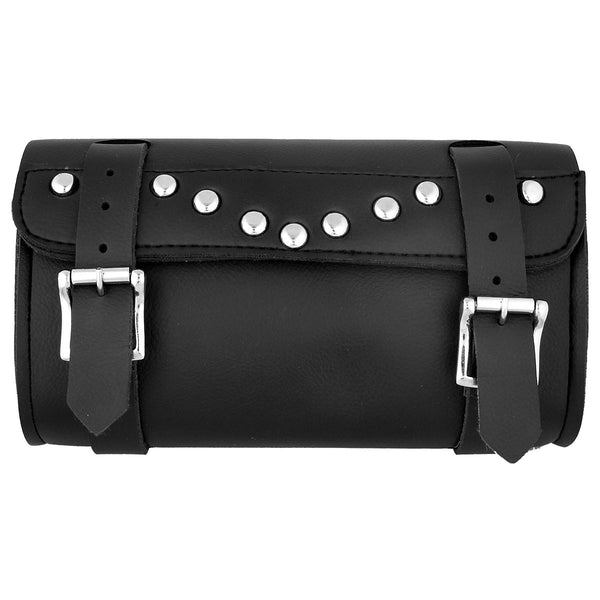 Hot Leathers TBC1005 Medium PVC Motorcycle Studded Tool Bag 10X5X3 - Hot Leathers Bags and Luggage