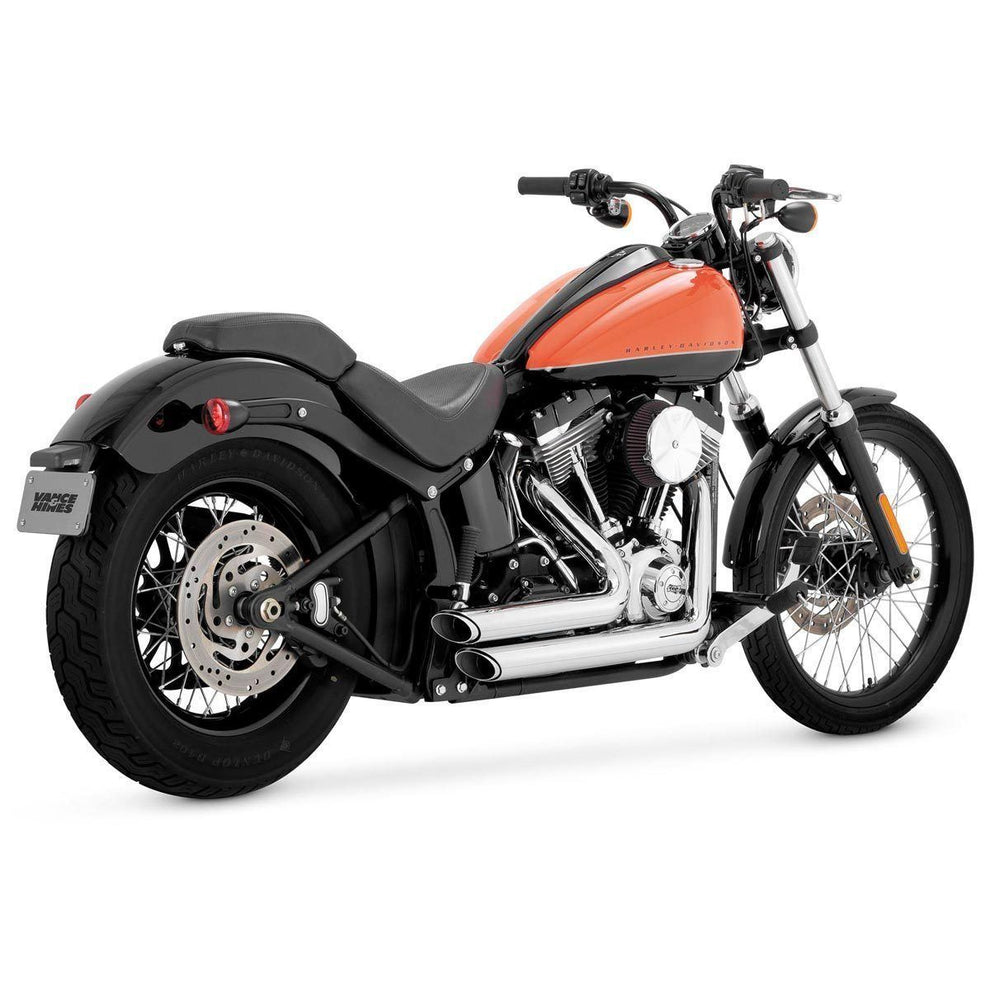 Vance and Hines Shortshots Staggered Full System Exhaust for Harley Davidson 2012-2015 Softail models