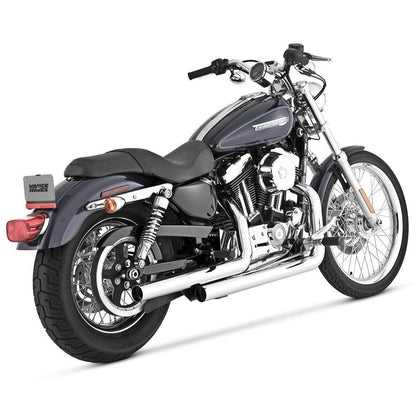 Vance and Hines Straightshots HS Chrome Full System Exhaust for Harley Davidson - N/A