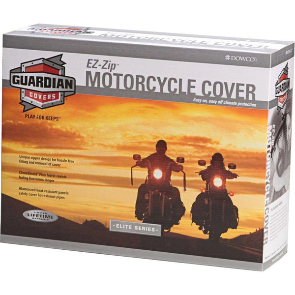Dowco Guardian WeatherAll Plus EZ Zip X-Large Motorcycle Cover - N/A