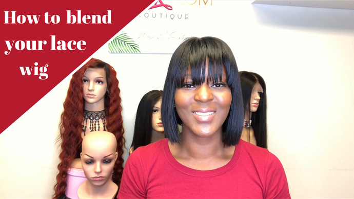 How to blend your wig with your skin