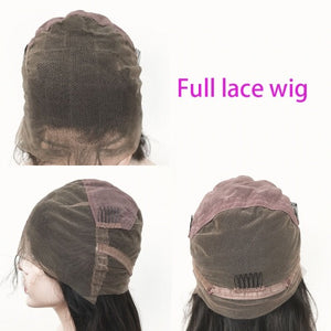 Brazilian straight lace wig