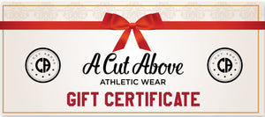 A Cut Above Athletic Wear Gift Card