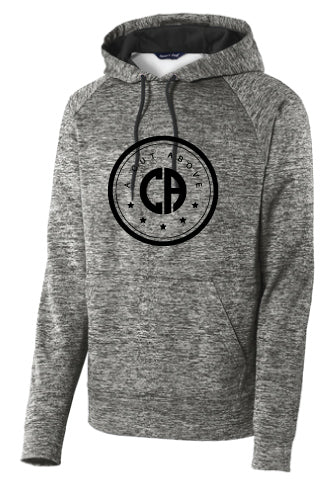A Cut Above Electric Fleece Hoodie (Gray)
