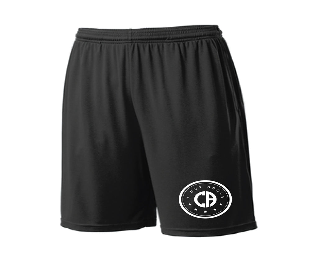 A Cut Above Supreme Pocket Shorts (Black)