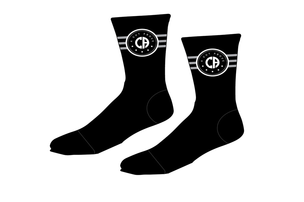 A Cut Above Sublimated Socks