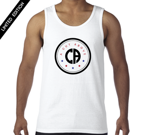 A Cut Above USA Tank (White)