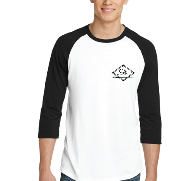 A Cut Above Diamond 3/4 Sleeve Shirt