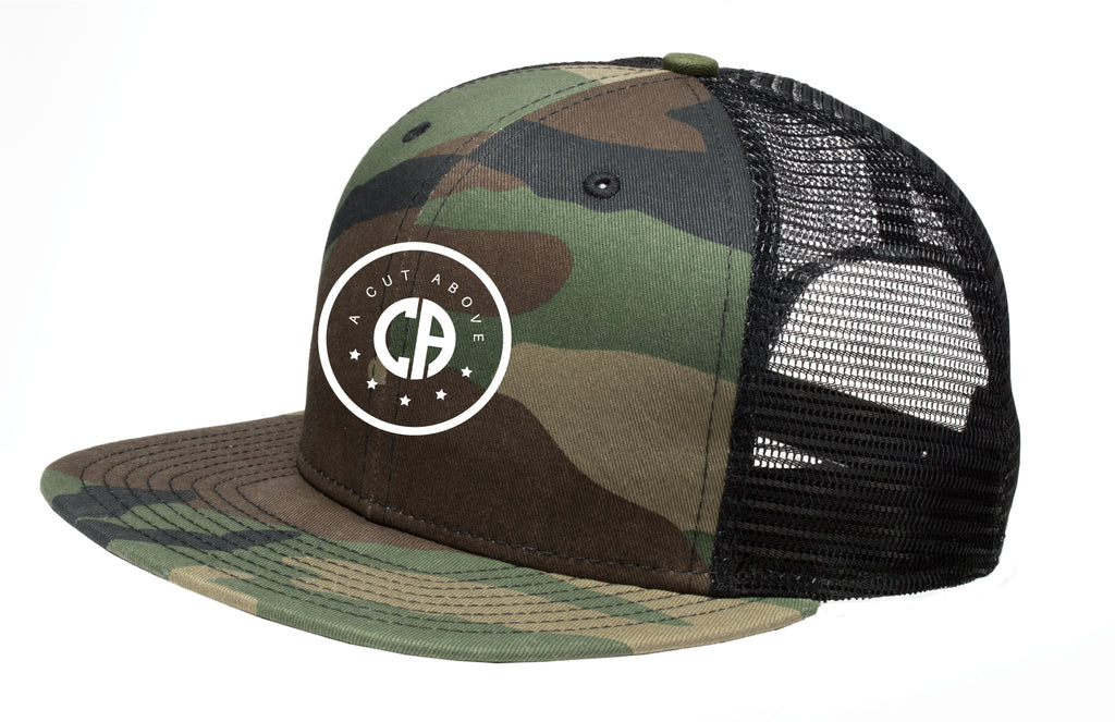 A Cut Above Dreamchaser Snapback Hat (Camo)