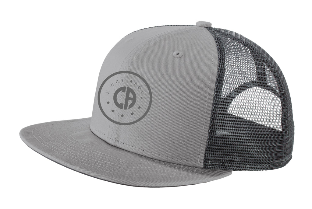 A Cut Above Dreamchaser Snapback Hat (Gray)