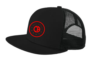 A Cut Above Dreamchaser Snapback Hat (Black w/ Red)