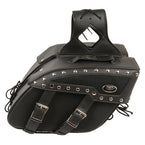 Motorcycle Studded Saddlebags