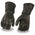Milwaukee Leather G317 Mens Deerskin Leather Thermal Lined Gauntlet Gloves
