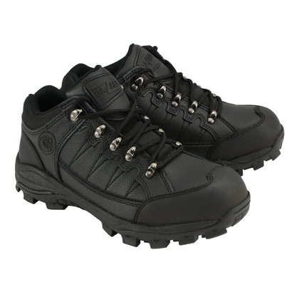 Bazalt MBM9126 Men's Black Water and Frost Proof Leather Outdoor Lace-Up Shoes
