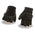 Milwaukee Leather MG7585 Men's Black Full Panel Gel Palm Fingerless Gloves