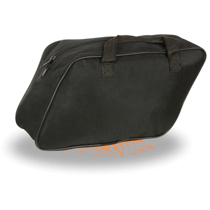 Milwaukee Leather MP8160 Black Textile Saddlebags Inside Liner