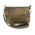 Milwaukee Leather MP8815 Ladies Distress Brown Double Zipper Leather Shoulder Bag