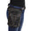 Milwaukee Leather Performance Accessories MP8885 Black Conceal & Carry Black Leather Thigh Bag with Waist Belt
