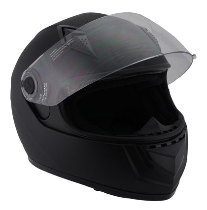 Milwaukee Performance Helmets MPH9800DOT 'Velocity' Full Face Matte Black Helmet