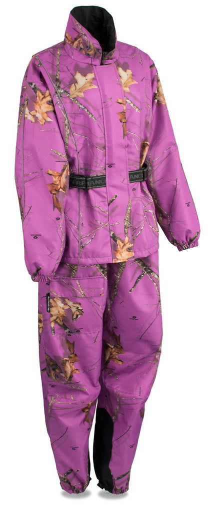 Milwaukee Leather MPL9600 Ladies Purple Mossy Oak Camo Rain Suit
