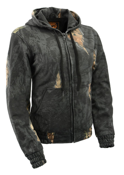 Milwaukee Performance MPM1779 Mens Zipper Front Mossy Oak Eclipse Hoodie