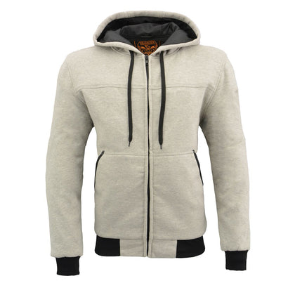 Milwaukee Performance MPM1788 Men's Silver CE Approved Armored Hoodie