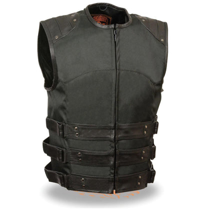 Milwaukee Performance MPM3300 Men's Zipper Front Assault Textile Vest with Gun Pockets