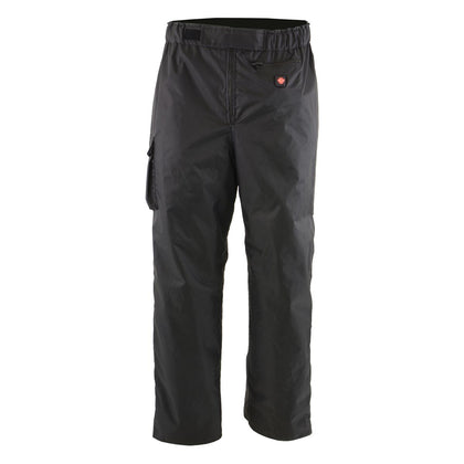 Milwaukee Leather MPM5720DUAL Men's Black Water Resistant Textile Over Pants with Battery Pack