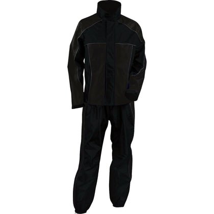 NexGen Ladies SH2222 Black Water Proof Rain Suit